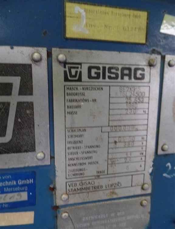 Двустороннее точило GISAG SE 2x315 фото на Industry-Pilot