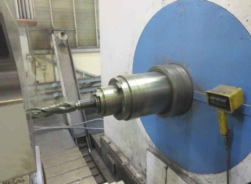 Floor-type horizontal boring machine SCHARMANN WF240-150