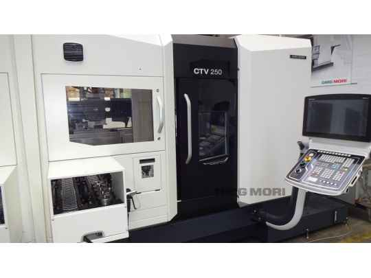 Vertical Turning Machine DMG CTV 250 photo on Industry-Pilot