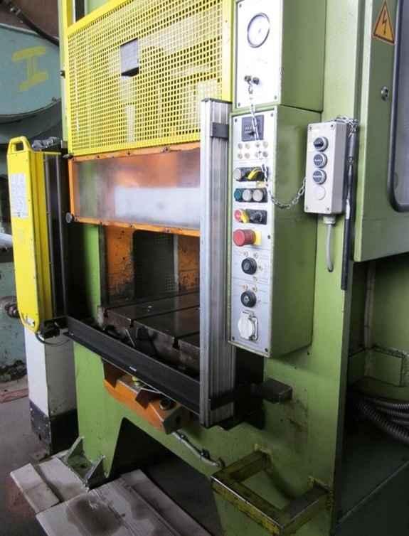 Double Column Drawing Press -Hydr. HANS SCHOEN UTE-B (UVV) photo on Industry-Pilot