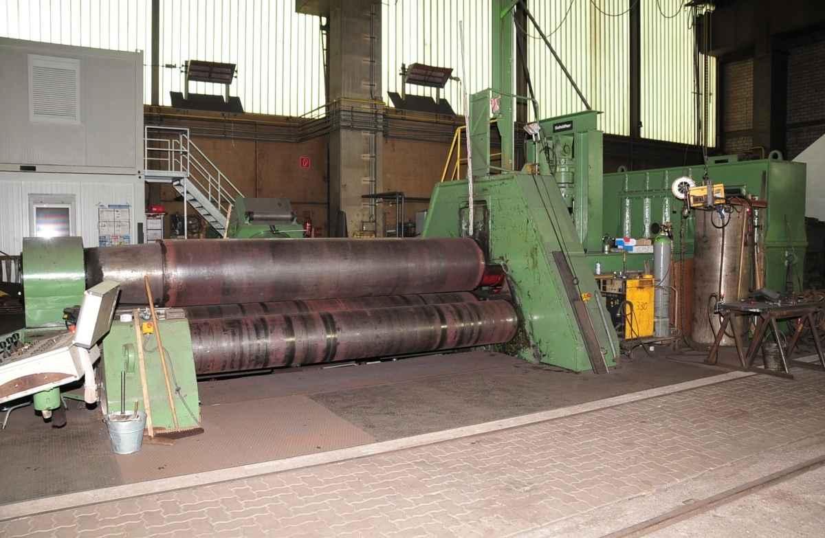 4-вальц. листогибочная машина SCHÄFER 4200x65 фото на Industry-Pilot