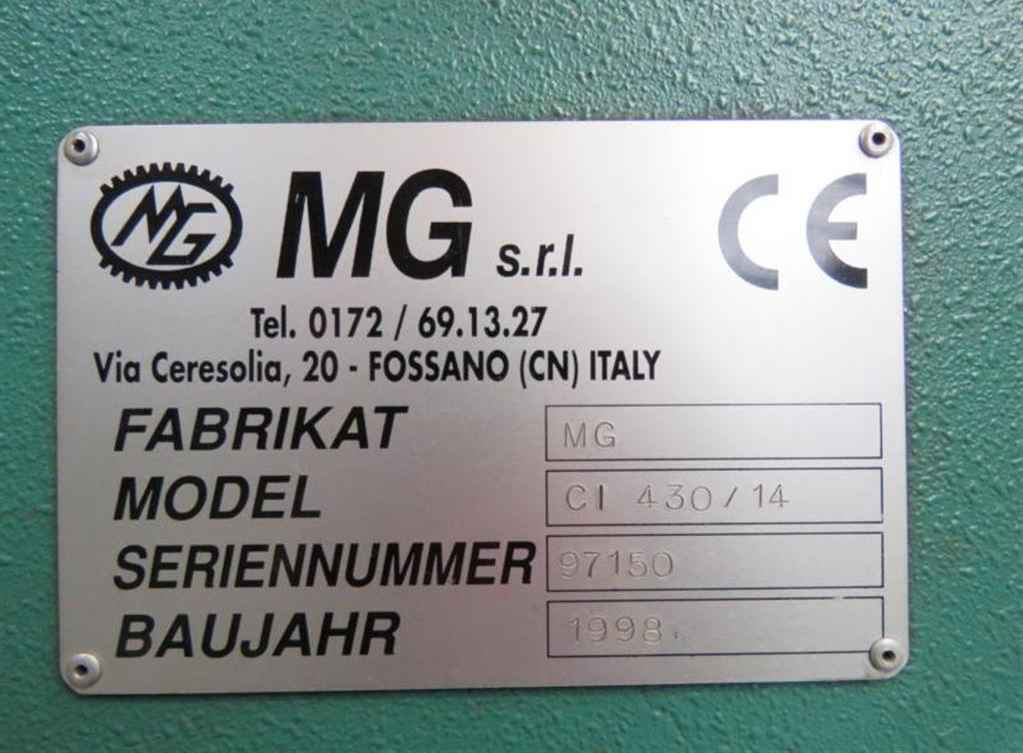 4-вальц. листогибочная машина MG CI 430 - 14 фото на Industry-Pilot