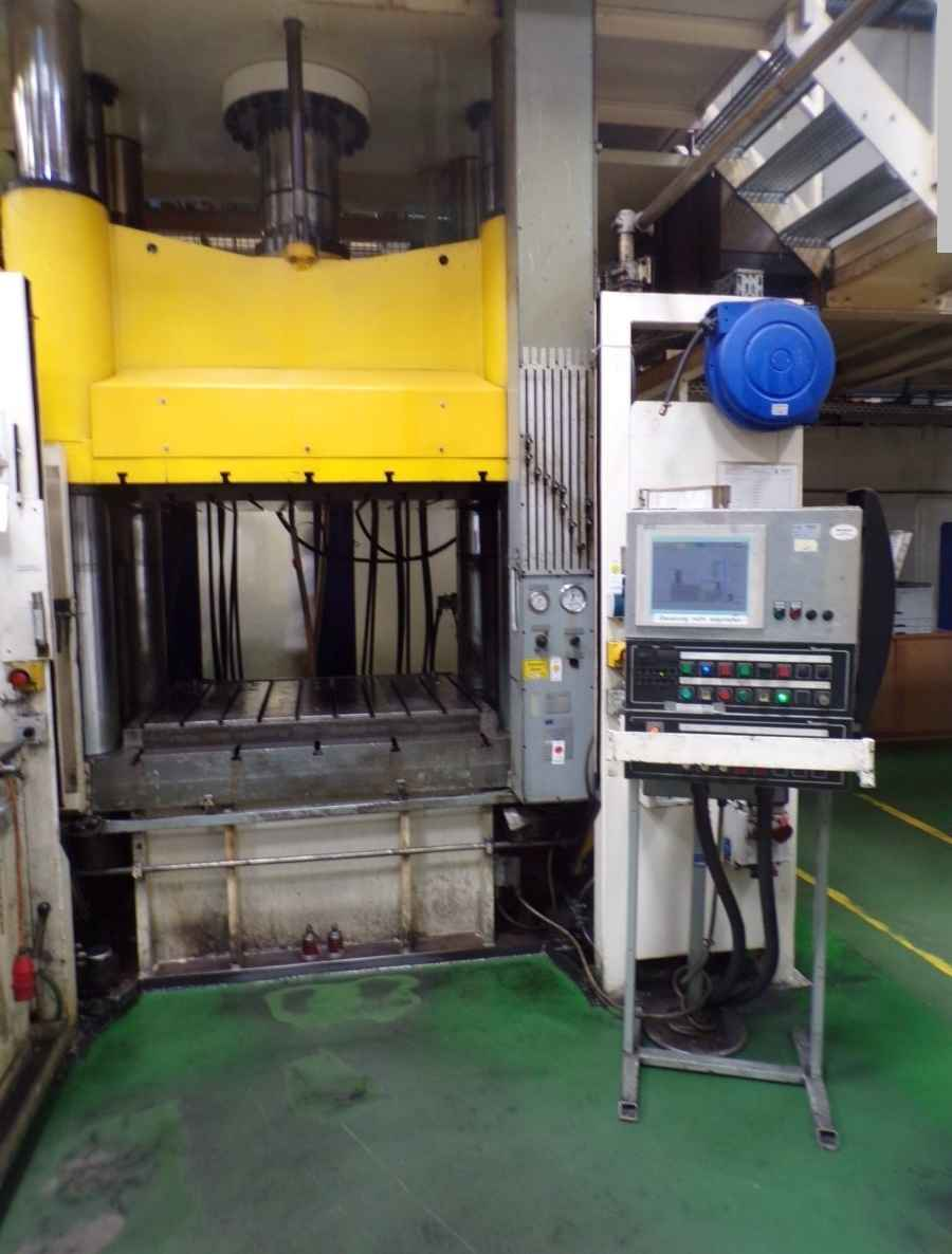 Four Column Press - Hydraulic Oevermann VP 400 photo on Industry-Pilot