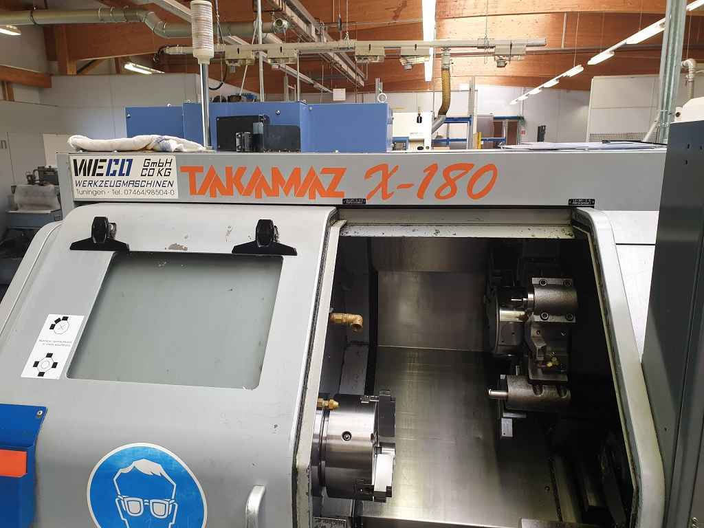 Токарно фрезерный станок с ЧПУ Takamaz X 180  фото на Industry-Pilot