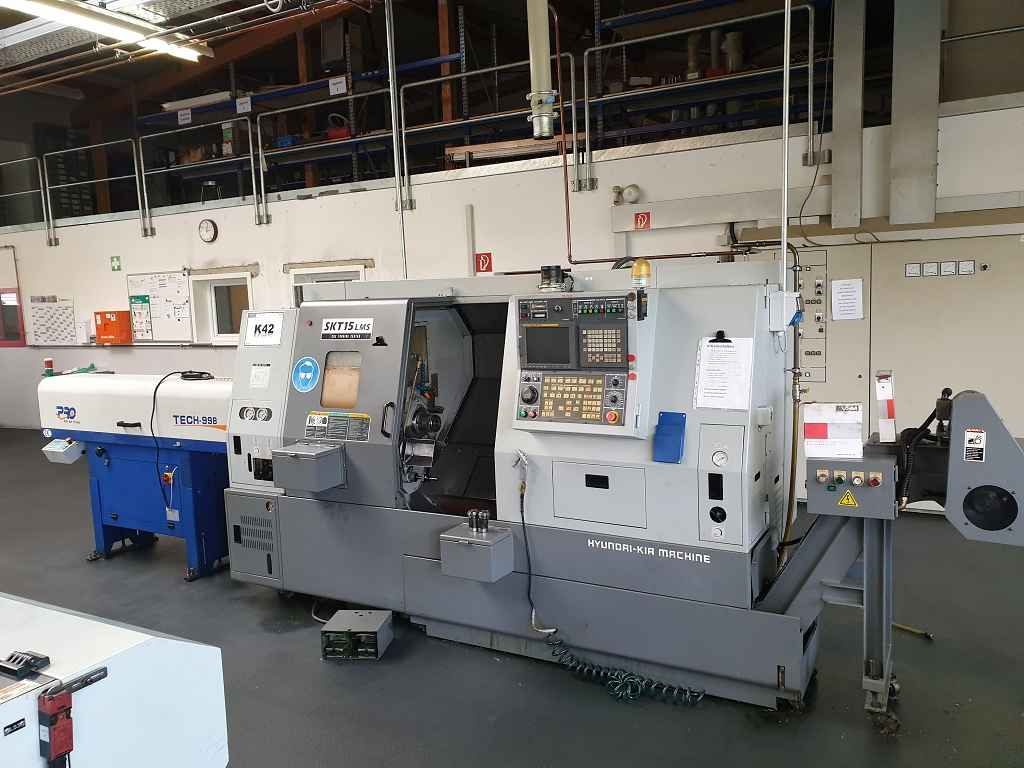CNC Turning and Milling Machine HYUNDAI KIA SKT 15 LMS  photo on Industry-Pilot