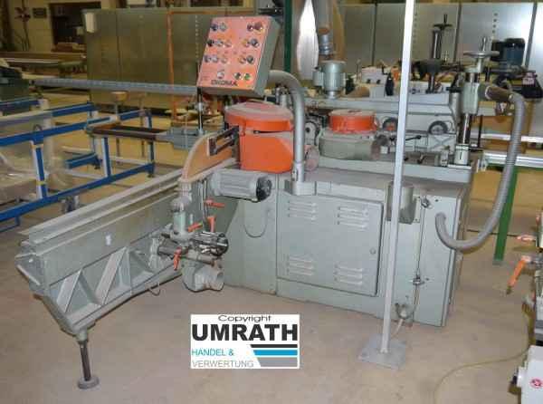 Фрезерный станок с шипорезной кареткой OkoMa SF3SFA фото на Industry-Pilot