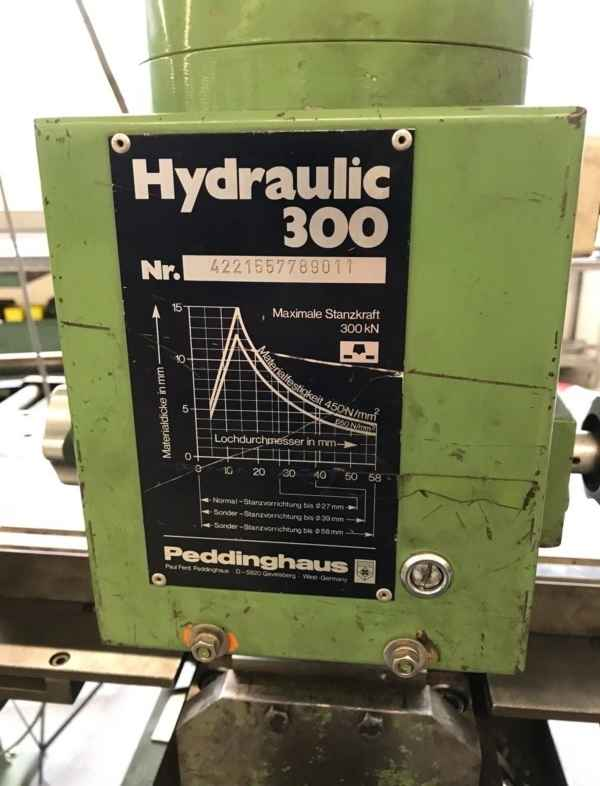 PEDDINGHAUS Hydraulic 300 photo on Industry-Pilot