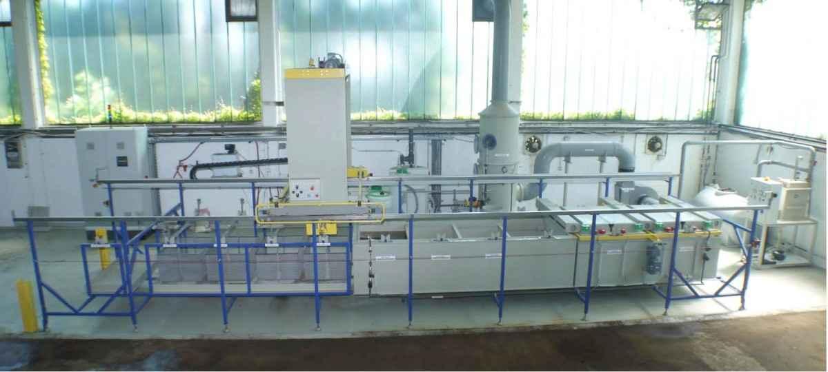 Установка для удаления позолоты  Entgoldungsanlage Gold- Recycling фото на Industry-Pilot