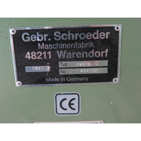 Double cut-off saw Doppel-Abkürzsäge Schröder photo on Industry-Pilot
