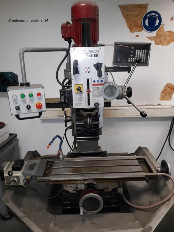 Фрезерно-расточный станок Hovenco MFB 45 ED Bohr- Fräsmaschine фото на Industry-Pilot
