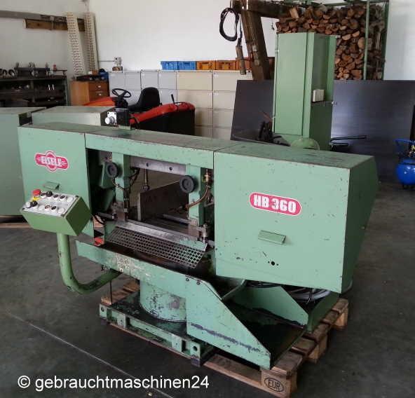 Ленточнопильный станок по металлу Eisele HB 360 SE Metallbandsäge, hydraulisch фото на Industry-Pilot