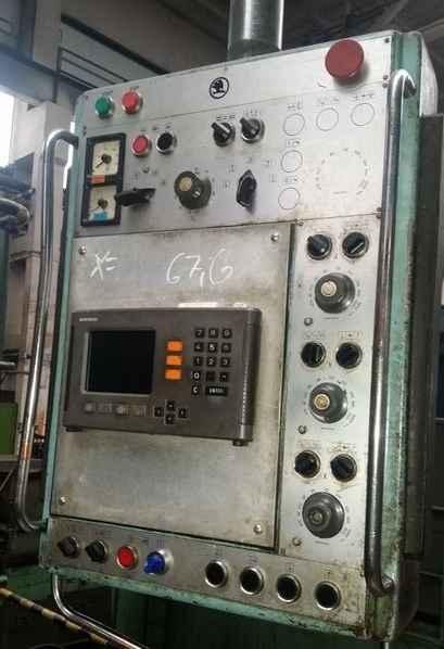 Горизонтальный расточный станок с неподвижной плитой - пиноль SKODA W 160 H Heidenhain фото на Industry-Pilot