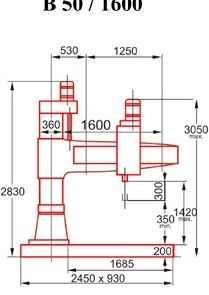 Радиально-сверлильный станок CSEPEL B 50 x 1600 Heidenhain фото на Industry-Pilot