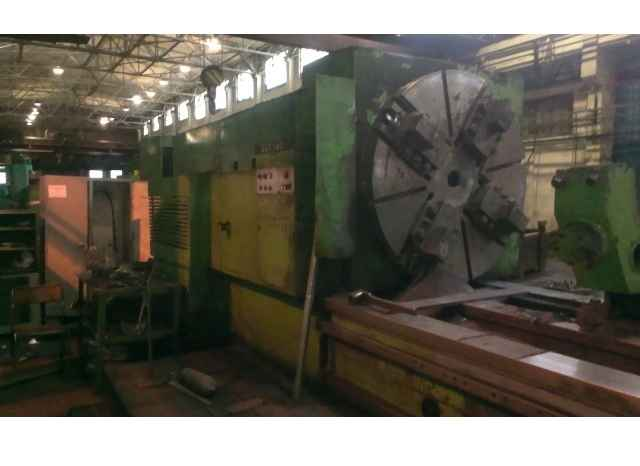 Тяжёлый токарный станок SKODA SUT 160 x 7000 Heidenhain фото на Industry-Pilot