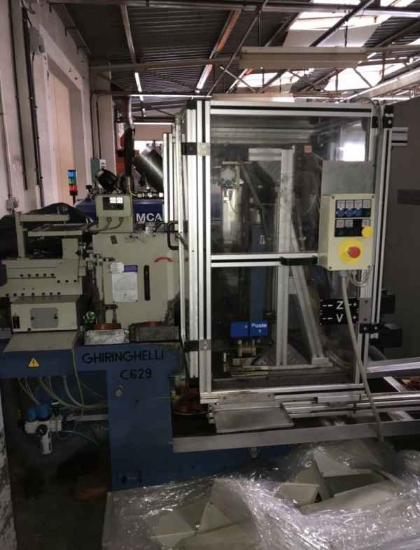 Grinding Machine - Centerless GHIRINGHELLI M 100 SP 400 photo on Industry-Pilot