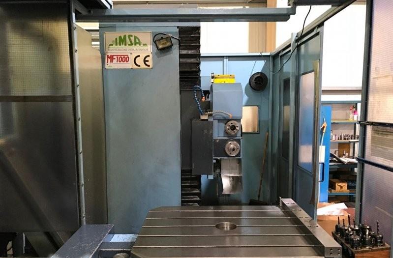 Фрезерно-расточный станок IMSA MF 1000 B2 фото на Industry-Pilot
