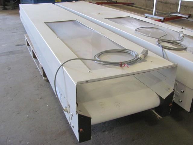 Горизонтальный ленточный транспортёр Arburg 3000x400mm фото на Industry-Pilot