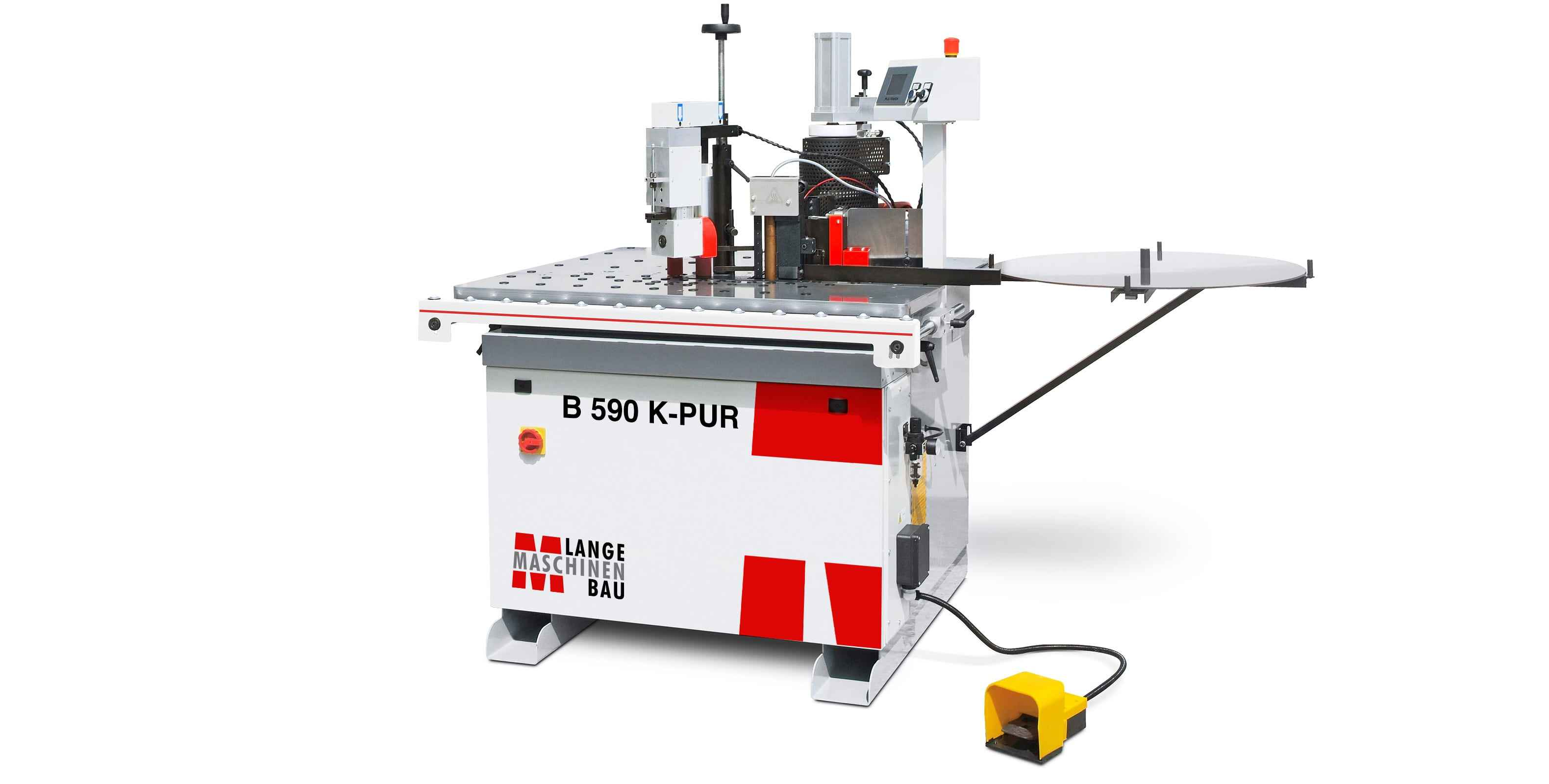 Кромкооблицовочный станок для фасонных деталей Lange B 590K-PUR фото на Industry-Pilot