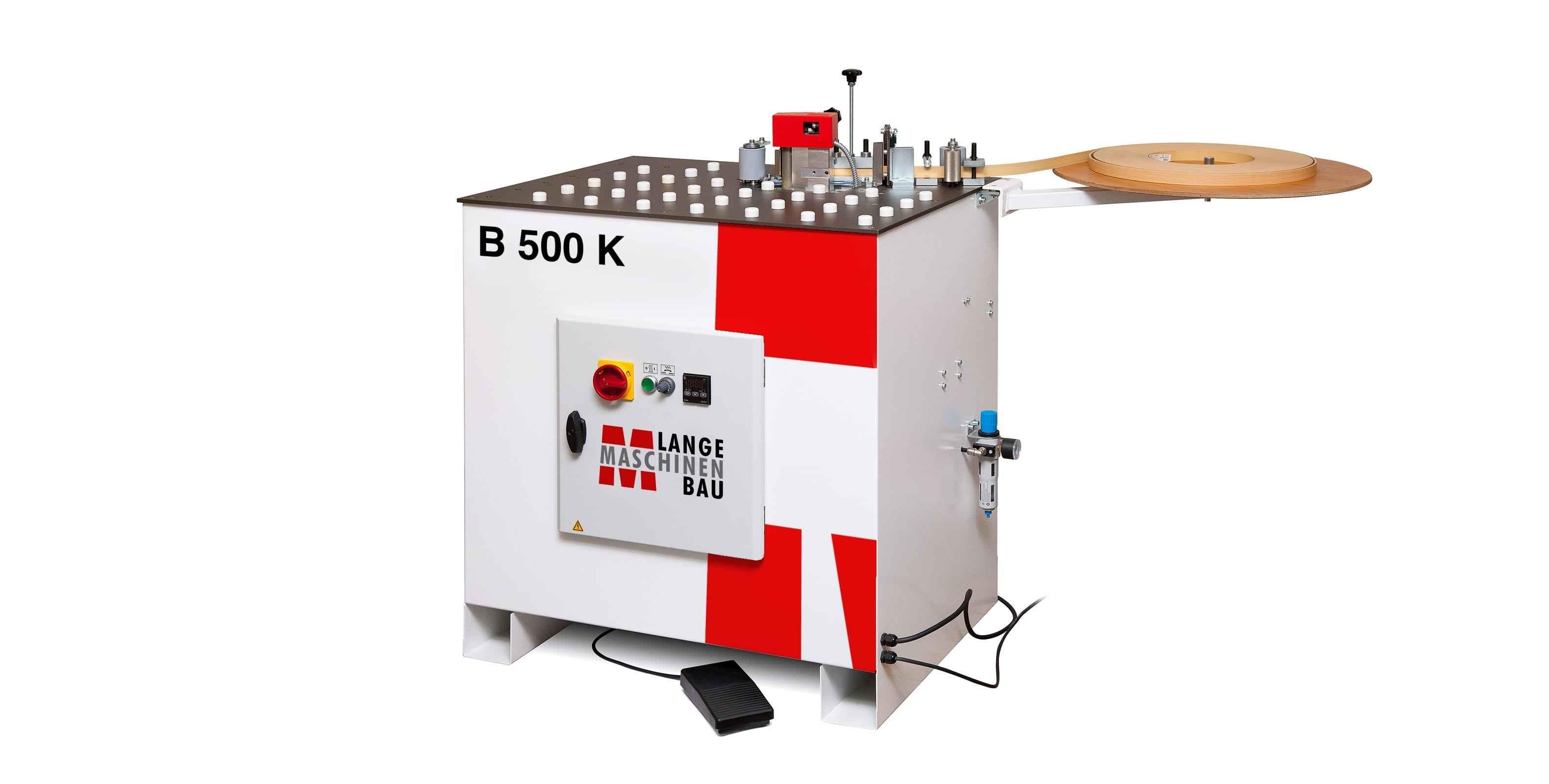 Кромкооблицовочный станок для фасонных деталей Lange B 500 K фото на Industry-Pilot