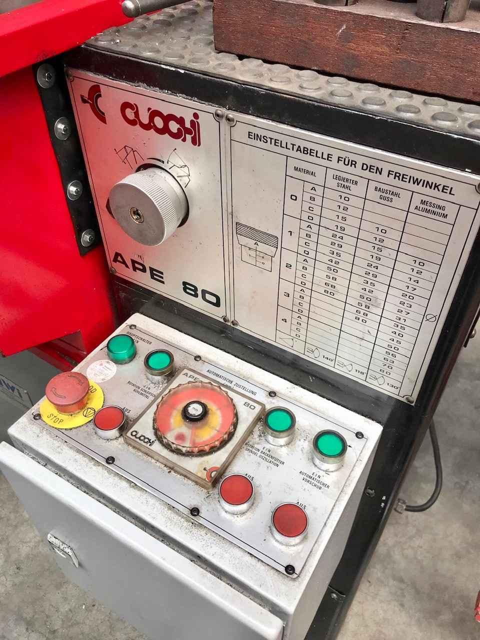 Станок для заточки свёрл Cuoghi Ape 80 фото на Industry-Pilot
