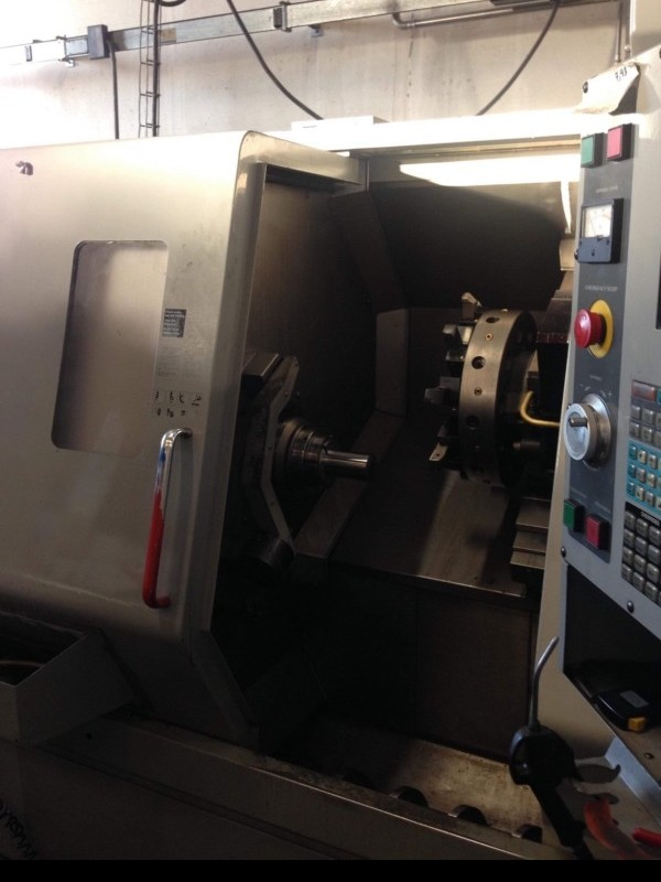 CNC Turning Machine - Inclined Bed Type HAAS SL 20 THE фото на Industry-Pilot