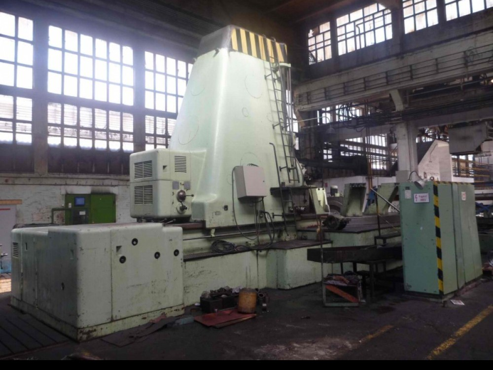 Gearwheel hobbing machine vertical MODUL ZFWZ 5000 фото на Industry-Pilot