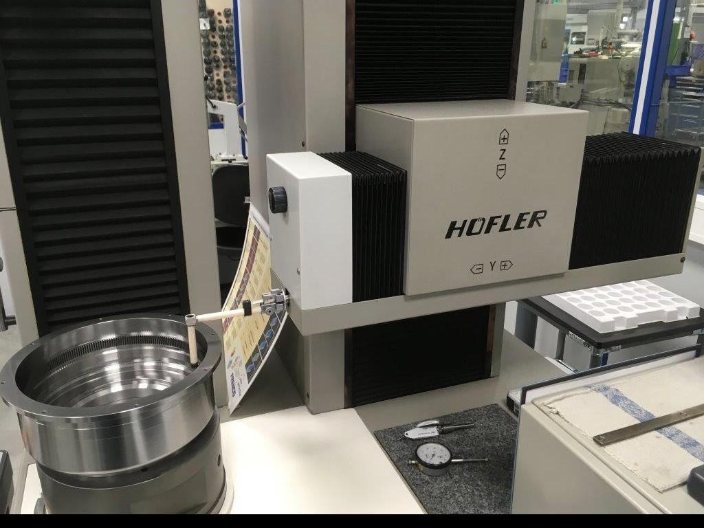 Gearwheel testing machines HÖFLER ZME 402 фото на Industry-Pilot