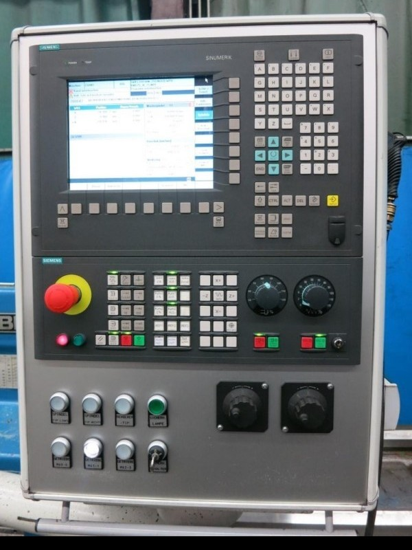 Тяжёлый токарный станок WOHLENBERG PT 1- 1070 II x 11000 840 D Heidenhain фото на Industry-Pilot
