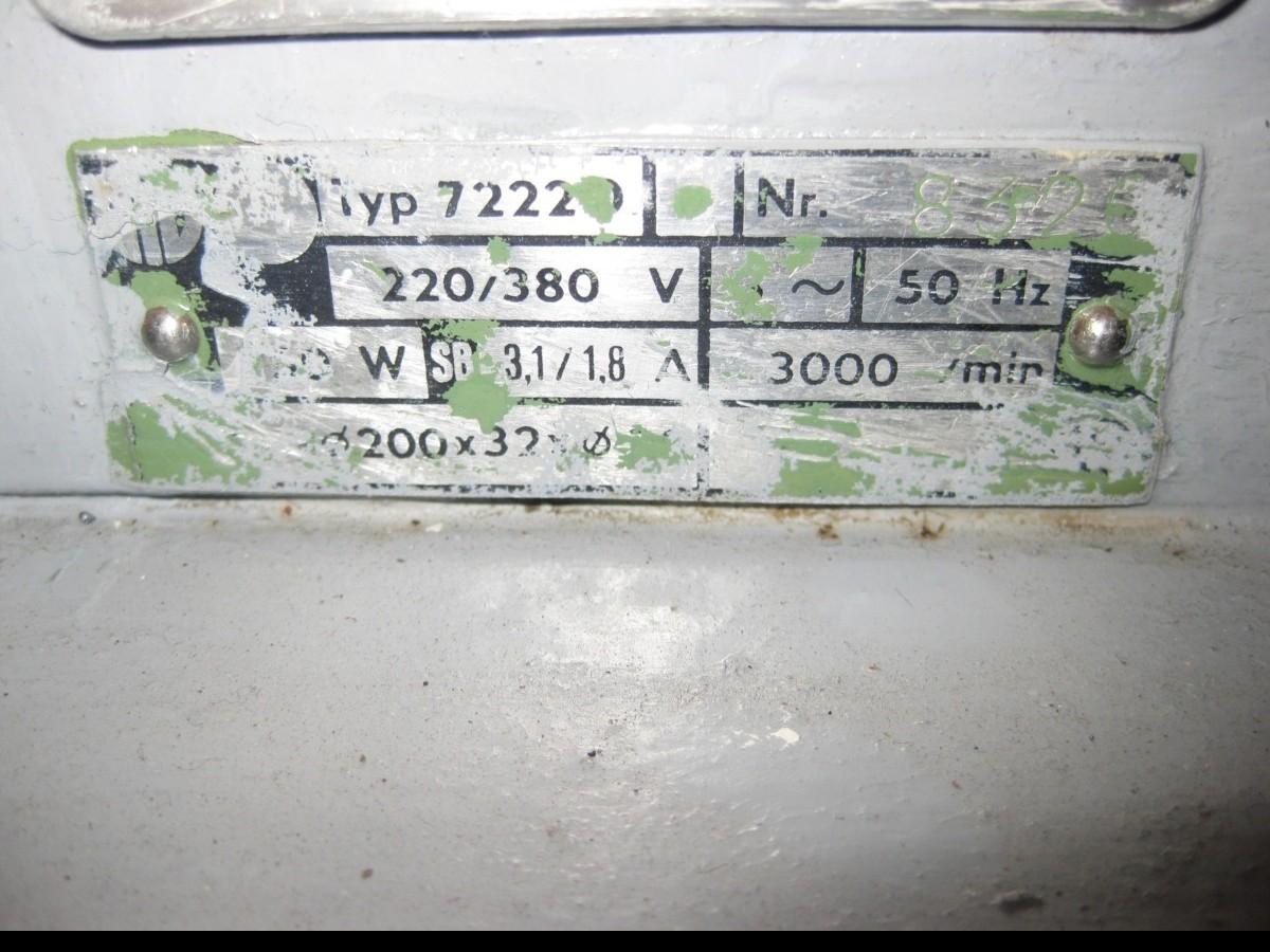 Двустороннее точило METABO 7222 D фото на Industry-Pilot