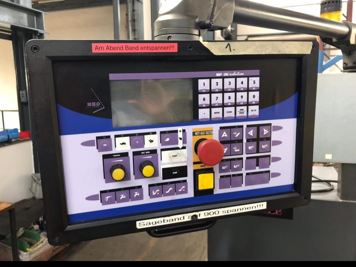 Ленточнопильный станок по металлу - Автом. MEP SHARK 270 CNC FE фото на Industry-Pilot