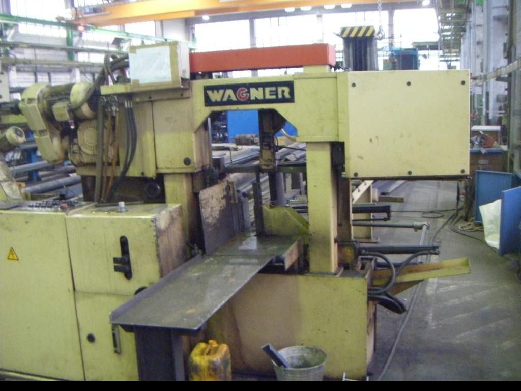 Ленточнопильный станок по металлу - Автом. WAGNER WPB 340 A фото на Industry-Pilot