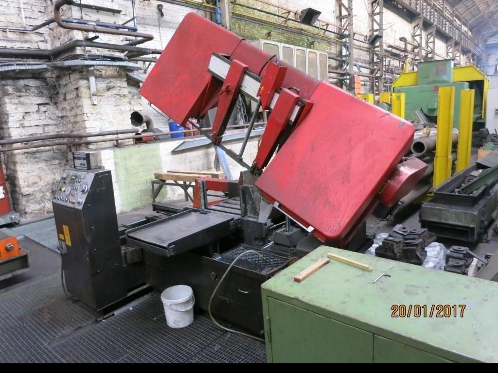Ленточнопильный станок по металлу - Автом. AMADA HA 500 фото на Industry-Pilot