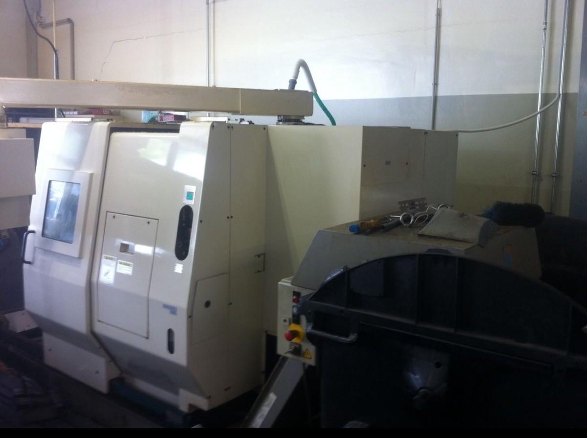 CNC Turning Machine - Inclined Bed Type OKUMA LU 15 M photo on Industry-Pilot