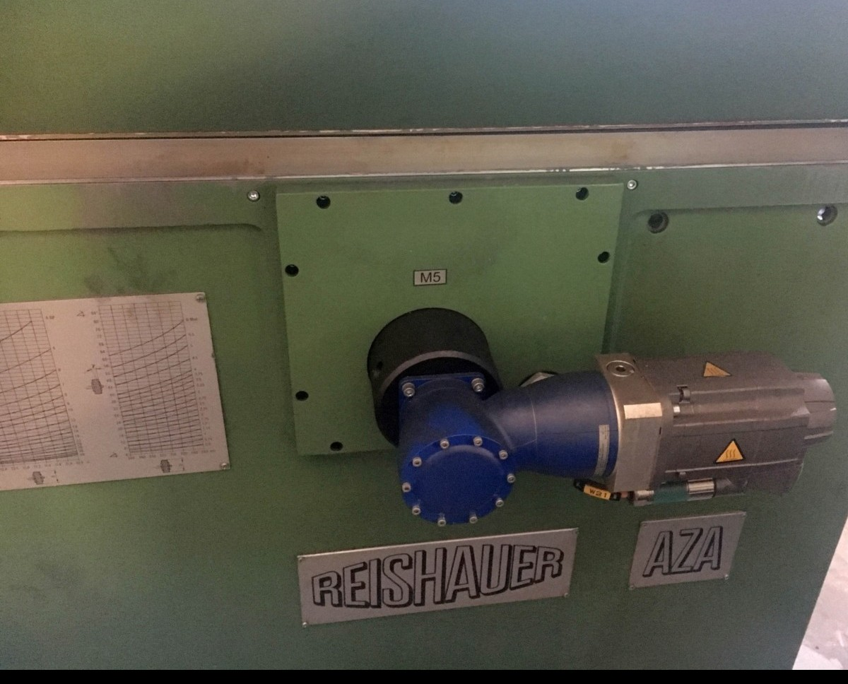 Gear grinding machines butts REISHAUER AZA photo on Industry-Pilot