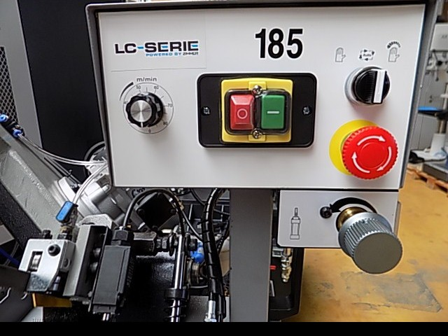 Ленточнопильный станок по металлу - гориз. полуавтоматический ZIMMER Z185/R фото на Industry-Pilot