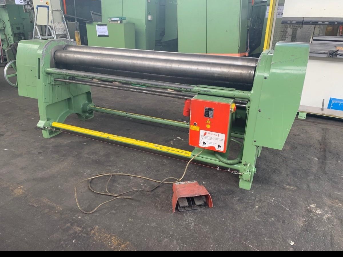 Plate Bending Machine - 3 Rolls FASTI 108-20-4 photo on Industry-Pilot