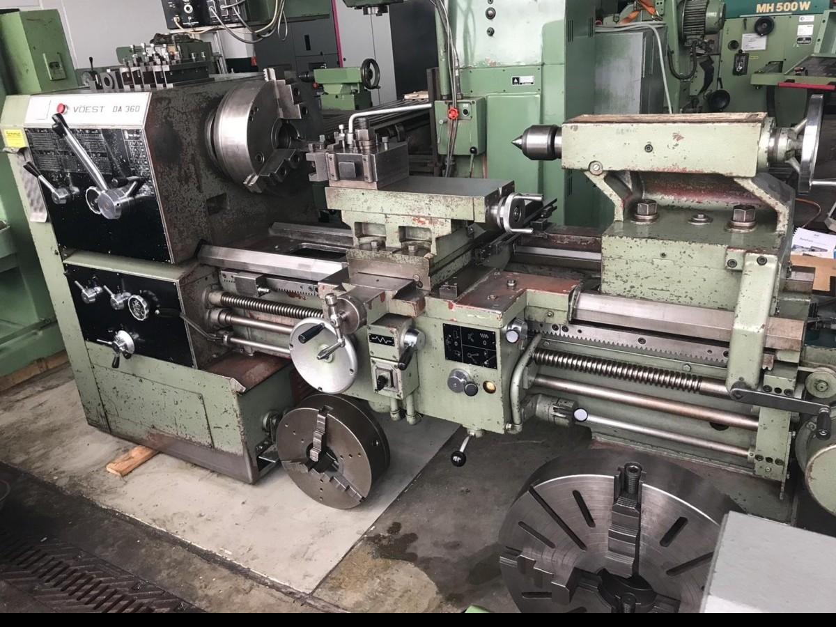 Screw-cutting lathe VOEST DA360 photo on Industry-Pilot