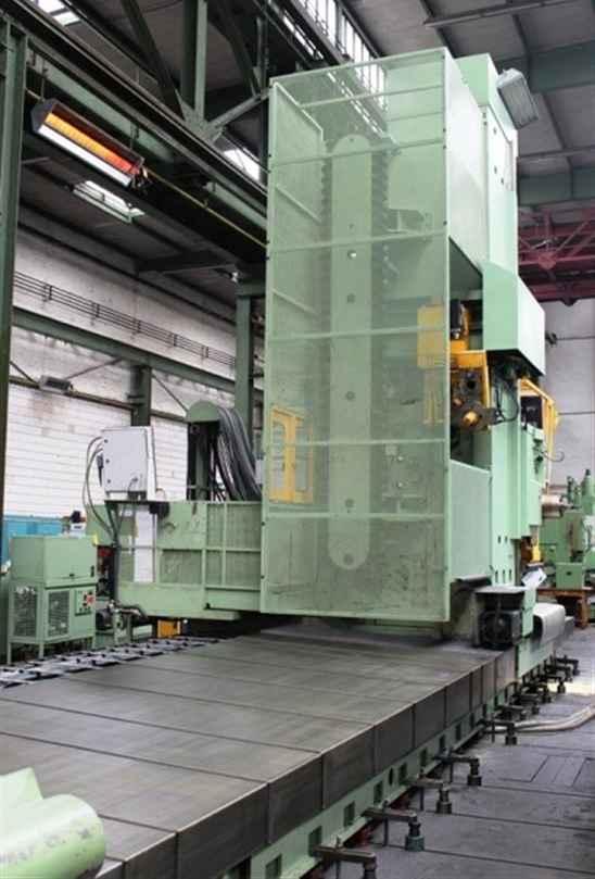Горизонтальный расточный станок с неподвижной плитой WOTAN Rapid 3 K Siemens фото на Industry-Pilot
