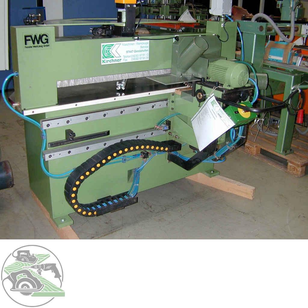 Фрезерный станок с шипорезной кареткой Hirsch Linear Profiliermaschine Typ FWG - LQP 180 фото на Industry-Pilot