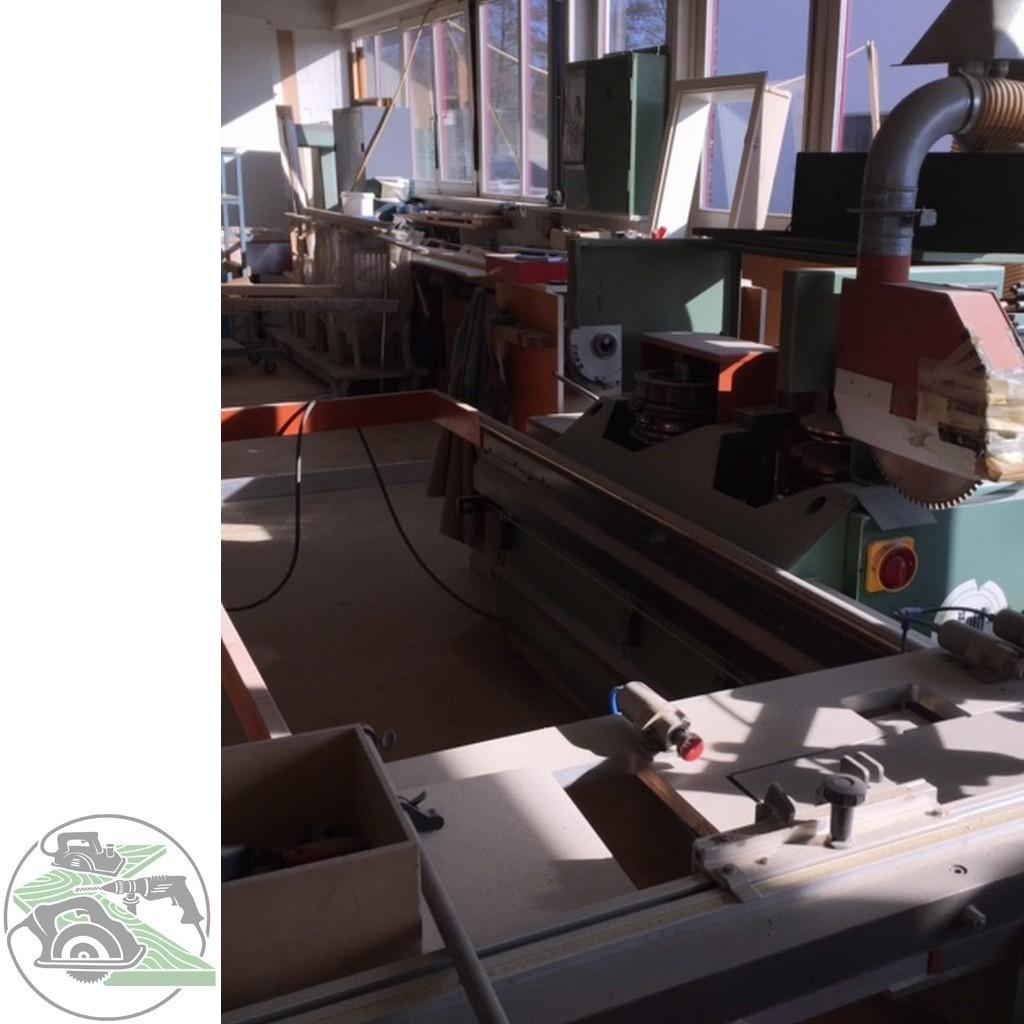Фрезерный станок с шипорезной кареткой SAC Zapfenschneider T 6 фото на Industry-Pilot