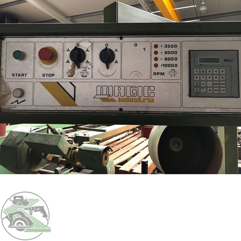 Фрезерный станок с шипорезной кареткой Magic Zapfenschneidmaschine Typ MTP 27 фото на Industry-Pilot