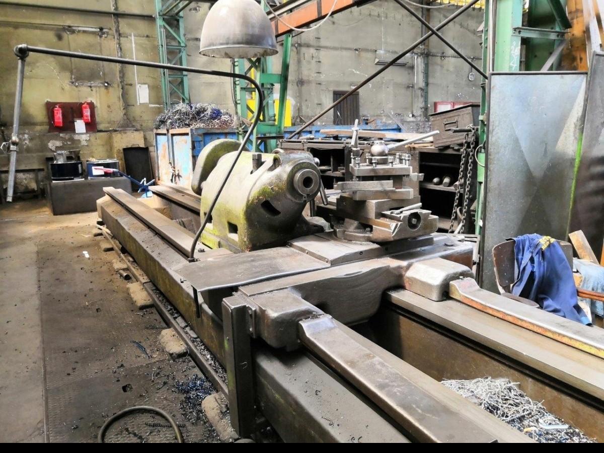 Тяжёлый токарный станок SKODA SR 1000 x 8000 Heidenhain фото на Industry-Pilot
