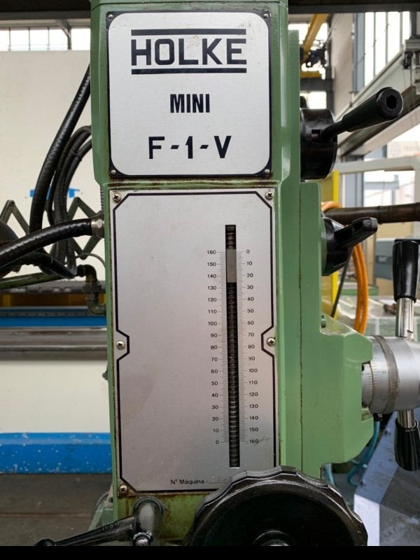 Фрезерно-расточный станок HOLKE Mini F-1-V фото на Industry-Pilot