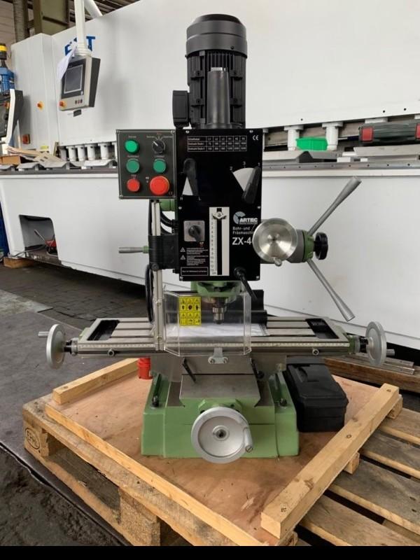 Фрезерно-расточный станок ARTEC ZX-40 фото на Industry-Pilot