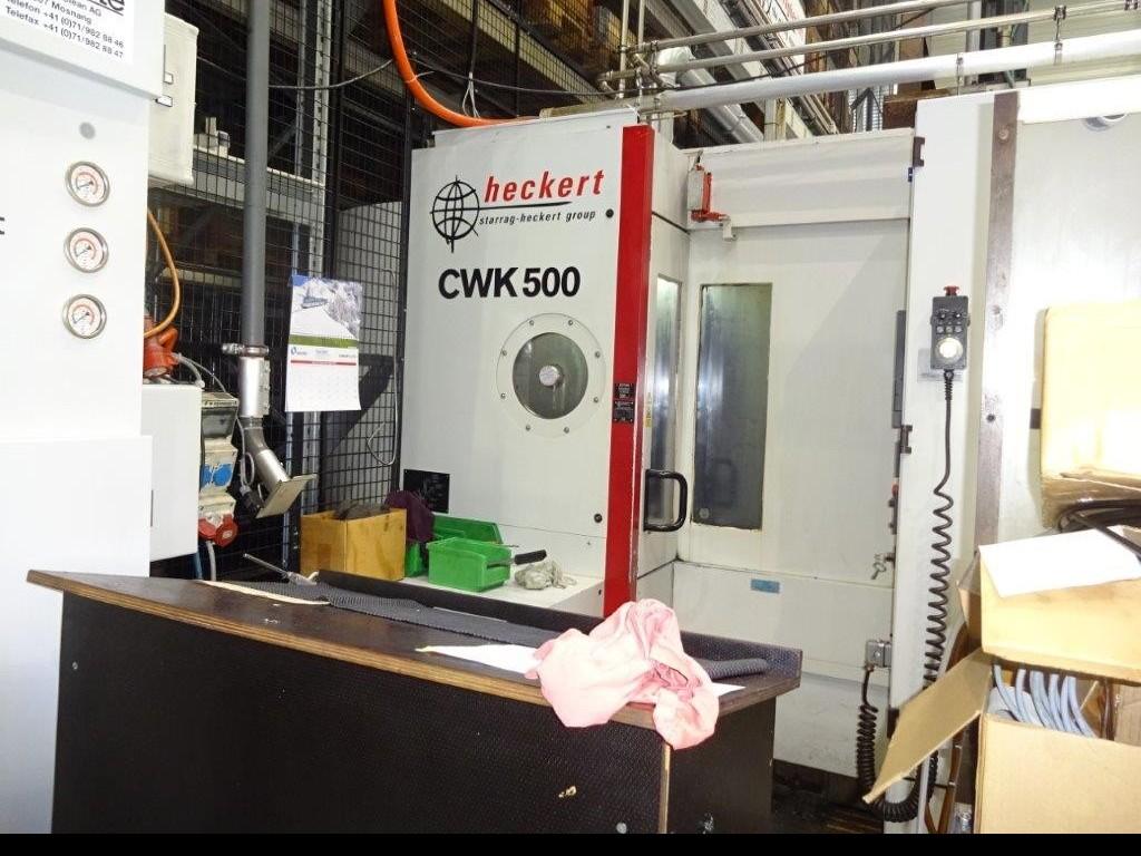 Обрабатывающий центр - горизонтальный STARRAG HECKERT CWK 500 фото на Industry-Pilot
