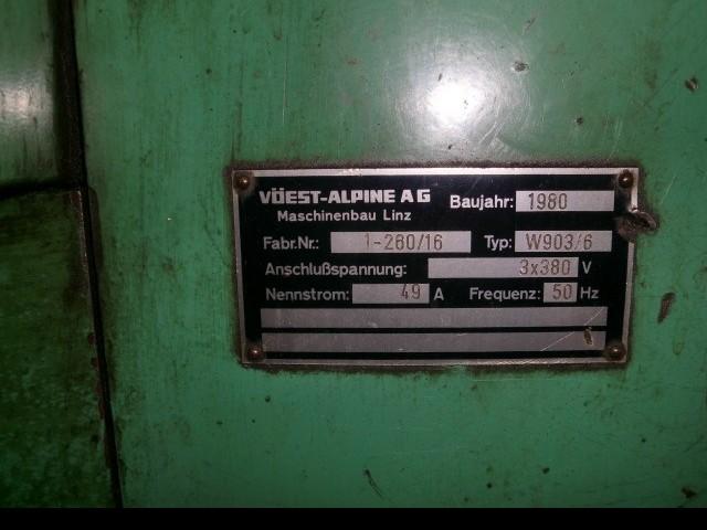 Токарно-винторезный станок WEIPERT-VOEST W 903 x 6000 Heidenhain фото на Industry-Pilot