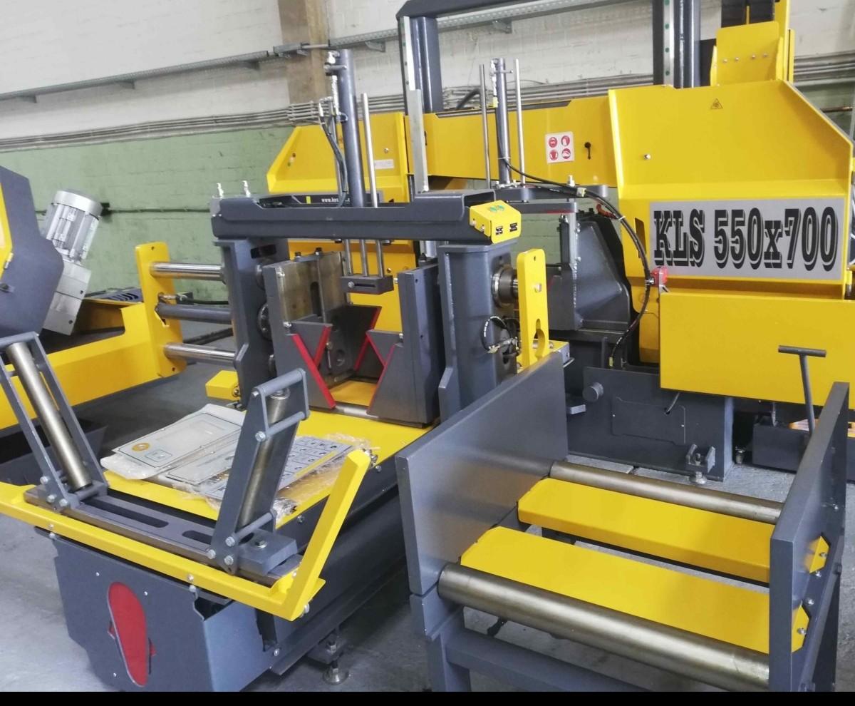 Ленточнопильный станок по металлу - гориз. полуавтоматический KM Kesmak KLS 550 x 700 фото на Industry-Pilot