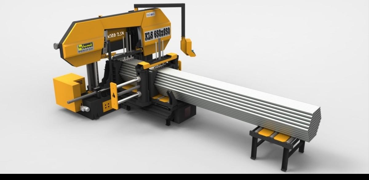 Ленточнопильный станок по металлу - гориз. полуавтоматический KM Kesmak KLS 650 x 1050 фото на Industry-Pilot