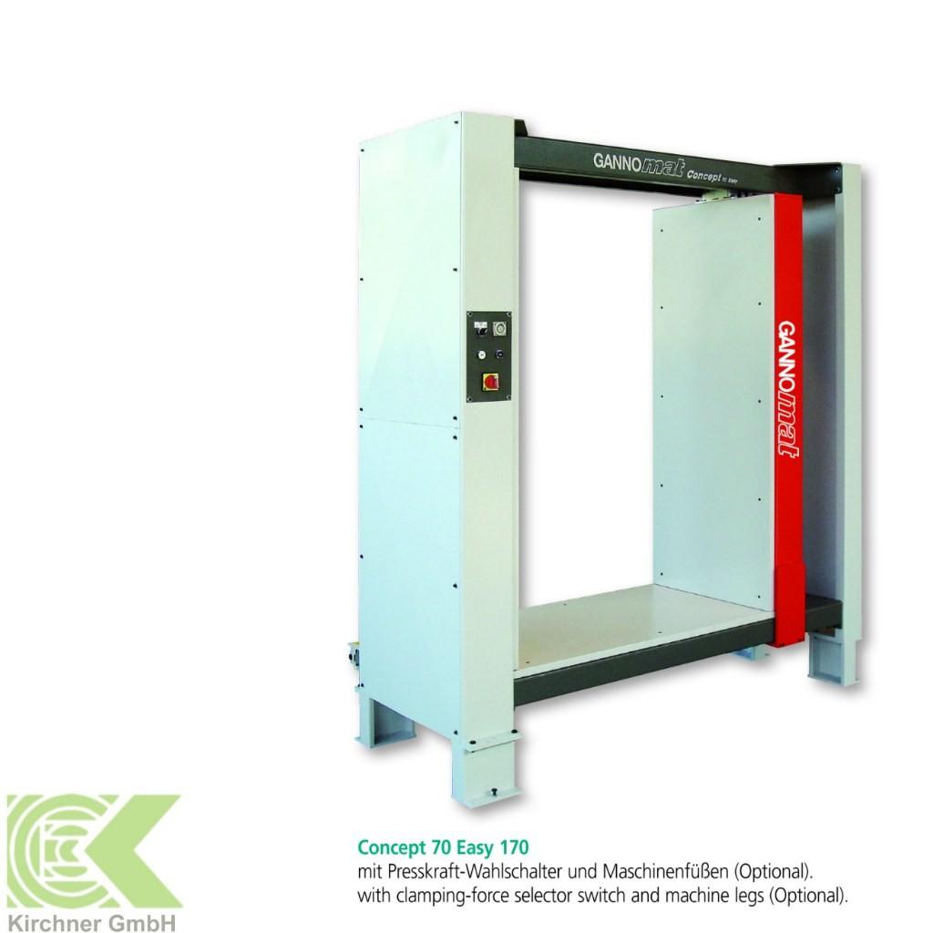 Carcase presses Ganner Gannomat Flächen-Korpuspresse Typ CONCEPT 70 EASY 170 photo on Industry-Pilot
