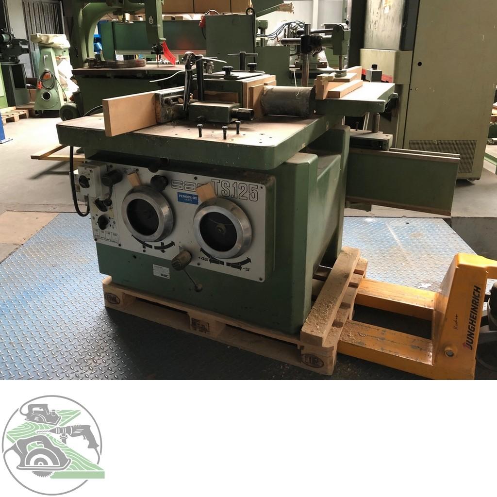 Swivel milling machine SAC Schwenkspindelfräse Typ TS125 photo on Industry-Pilot